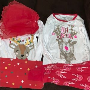 Carter's Pajamas - LOTS OF CARTERS XMAS PAJAMAS